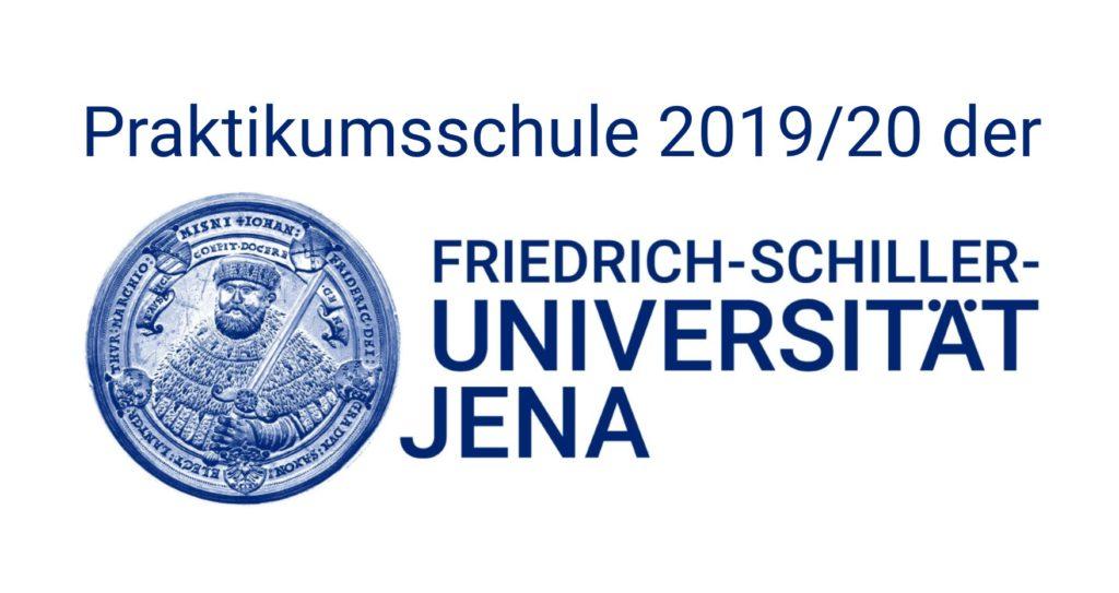 Praktikumsschule 2019/2020 der Friedrich-Schiller-Universität Jena